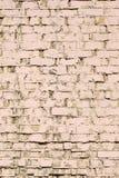 Hintergrund gemalte alte Backsteinmauer Stockbilder