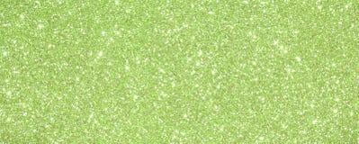 Hintergrund-Grün funkelte mit funkelnden Lichtern und Reflexion Lizenzfreie Stockfotos