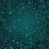 Hintergrund - grünes Mosaik Lizenzfreies Stockfoto