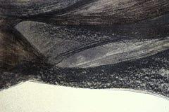 Hintergrund, Grau, metallische, abstrakte Malerei, Schwarzweiss-Zeichnung stockfotos