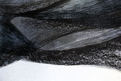 Hintergrund, Grau, metallische, abstrakte Malerei, Schwarzweiss-Zeichnung lizenzfreie stockbilder