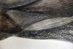 Hintergrund, Grau, metallische, abstrakte Malerei, Schwarzweiss-Zeichnung stockfotografie
