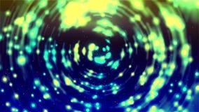 Hintergrund HD Loopable mit dem netten abstrakten Glühen beleuchtet stock footage