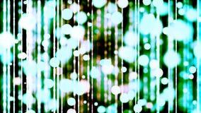 Hintergrund HD Loopable mit nettem grünem bokeh stock video