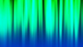 Hintergrund HD Loopable mit netten grünen Lichtern stock abbildung