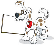 Hintergrund-Hund Lizenzfreies Stockfoto