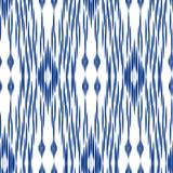 Hintergrund Ikat Ogee Lizenzfreies Stockfoto