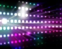 Hintergrund-Leuchten Lizenzfreies Stockbild