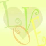 Hintergrund, Liebe und Inneres vektor abbildung