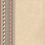 Hintergrund mit abstraktem geometrischem Muster Lizenzfreie Stockbilder
