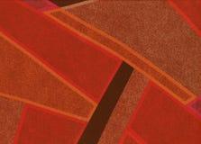 Hintergrund mit abstrakten geometrischen Formen Lizenzfreie Stockfotografie