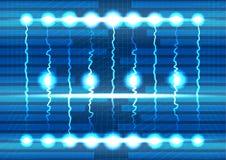 Hintergrund mit abstrakter Beleuchtung Stockbild