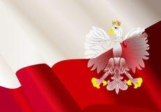 Hintergrund mit Adler Stockbild
