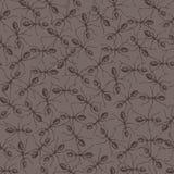 Hintergrund mit Ameisen Stockfoto