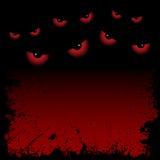 Hintergrund mit Augen Stockbild