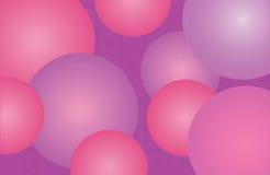 Hintergrund mit Ballonen Stockbilder