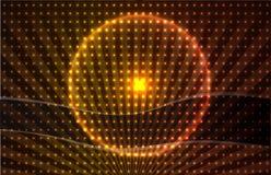Hintergrund mit blauer Leuchte Lizenzfreies Stockbild