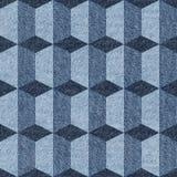 Hintergrund mit Blue Jeans-Mustern von verschiedenen Farben vektor abbildung