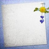 Hintergrund mit Blumen Lizenzfreie Abbildung