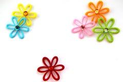 Hintergrund mit Blumen Lizenzfreie Stockbilder