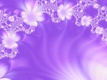 Hintergrund mit Blumen Stockfotos