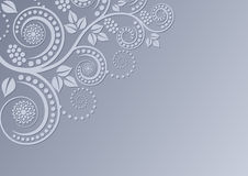 Hintergrund mit Blumendekoration Stockfotos