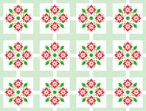 Hintergrund mit Blumenzeichnung Stockfotos