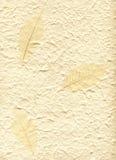 Hintergrund mit dekorativem Gewebeblatt Stockbild