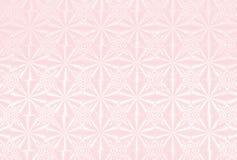 Hintergrund mit dem ganz eigenhändig geschrieben Muster hellrosa Stockbilder
