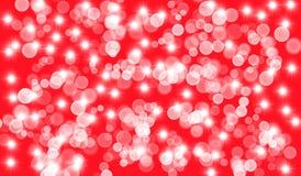 Hintergrund mit den Blasen und Höhepunkten, rot lizenzfreies stockbild