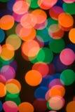 Hintergrund mit den Leuchten antreibend Lizenzfreie Stockbilder