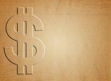 Hintergrund mit Dollar stockfotos