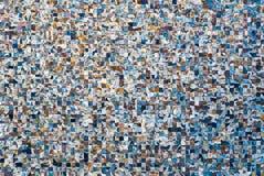 Hintergrund mit einem Muster von den Quadraten Lizenzfreie Stockbilder