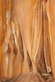 Hintergrund mit einer tiefen Höhle der Wand Stockbilder