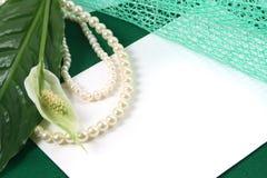 Hintergrund mit einer weißen Blume stockfotos