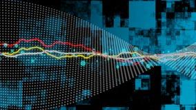 Hintergrund mit elektrischer Energie Stockfoto