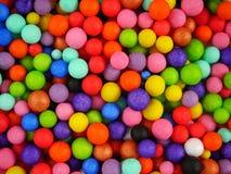 Hintergrund mit farbigen Bällen Stockbild