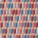 Hintergrund mit farbigen Bleistiften Lizenzfreies Stockbild