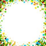 Hintergrund mit Farbquadraten Lizenzfreies Stockbild