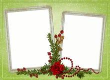 Hintergrund mit Feldern Lizenzfreie Stockbilder