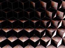 Hintergrund mit geometrischen Formen Stockbild