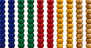 Hintergrund mit glänzenden Kornen einer Rechenmaschine Lizenzfreie Stockbilder
