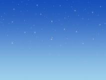 Hintergrund mit glänzenden Sternen. Lizenzfreies Stockfoto