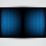 Hintergrund mit glühenden Leuchten. vektor abbildung