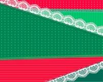 Hintergrund mit hellem Gewebe und Spitze entwerfen Vektor lizenzfreie stockfotos