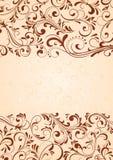 Hintergrund mit horizontalem Muster Lizenzfreie Stockfotos