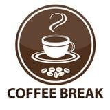 Hintergrund mit Kaffeetasse Lizenzfreie Stockfotos