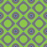Hintergrund mit Kreisen und Quadraten lizenzfreie abbildung