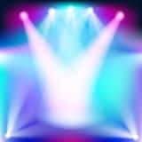 Hintergrund mit Lichteffekten Lizenzfreies Stockfoto