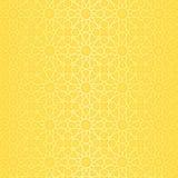 Hintergrund mit Muster in der islamischen Art Lizenzfreies Stockfoto